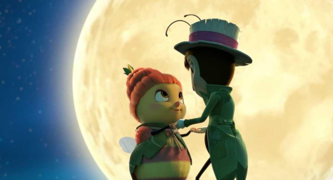 Marguerite och Apollo. Och månen.