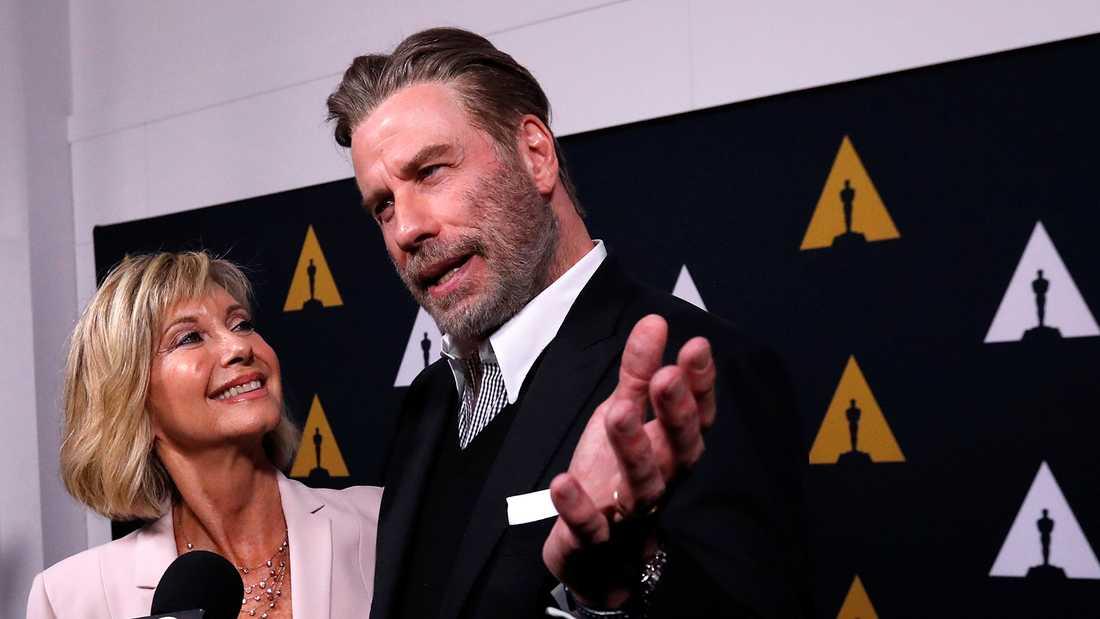 Olivia Newton-John och John Travolta.
