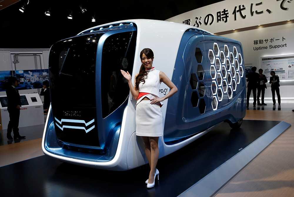 Isuzu Motor har en framtidsidé med sin lastbil, FD-SI.