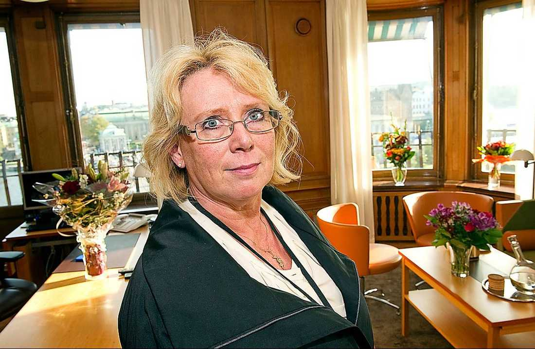 Miljöminister Lena Ek (C).