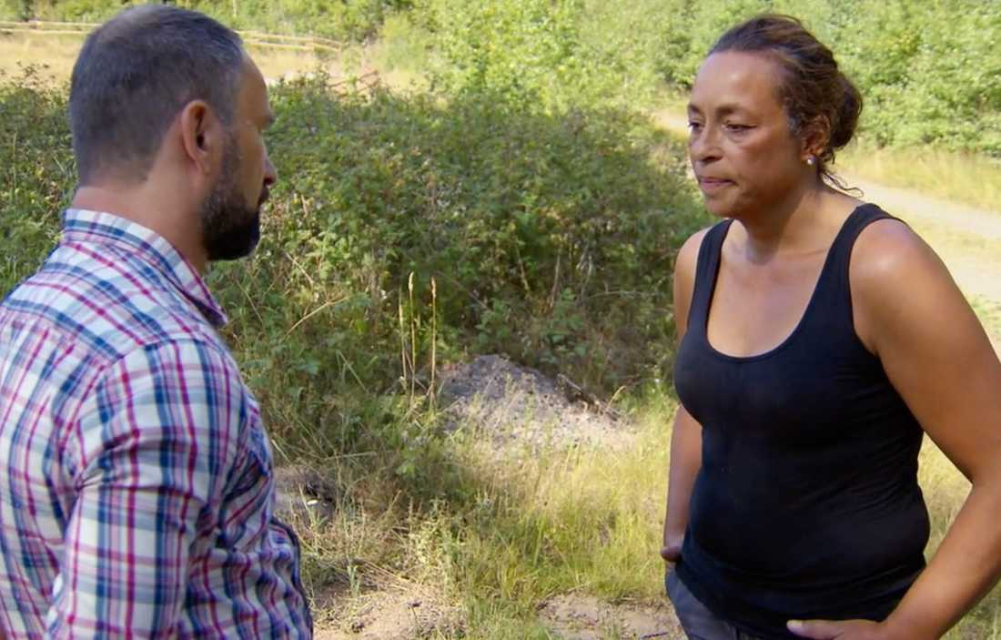 "Paolo Roberto och ""Farmen""-Maria."