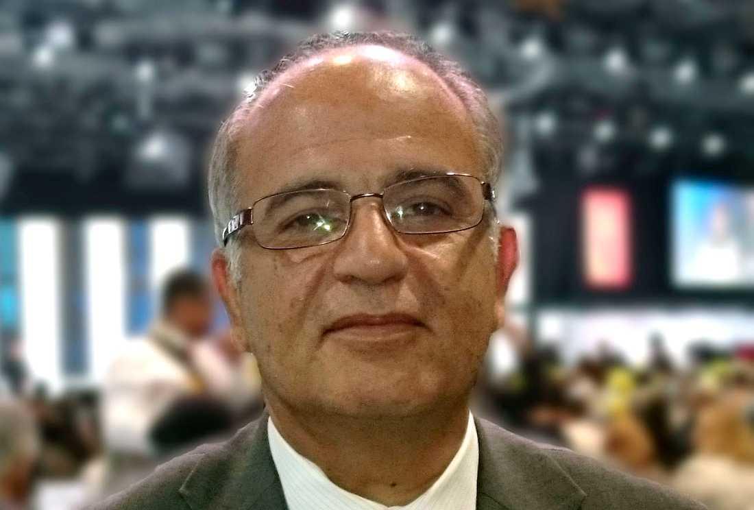 Exiliraniern Mojtaba Ghorbi är mycket skeptisk till att Löfven reser till Iran.