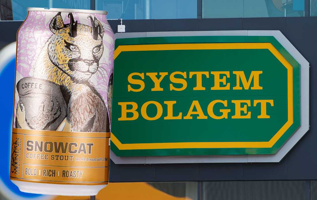 Systembolaget säljstoppar ölsorten Snow Cat Coffee stout.