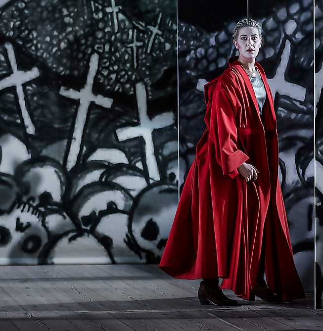 "Emma Sventelius  i ""Orlando"" på Kungliga Operan."