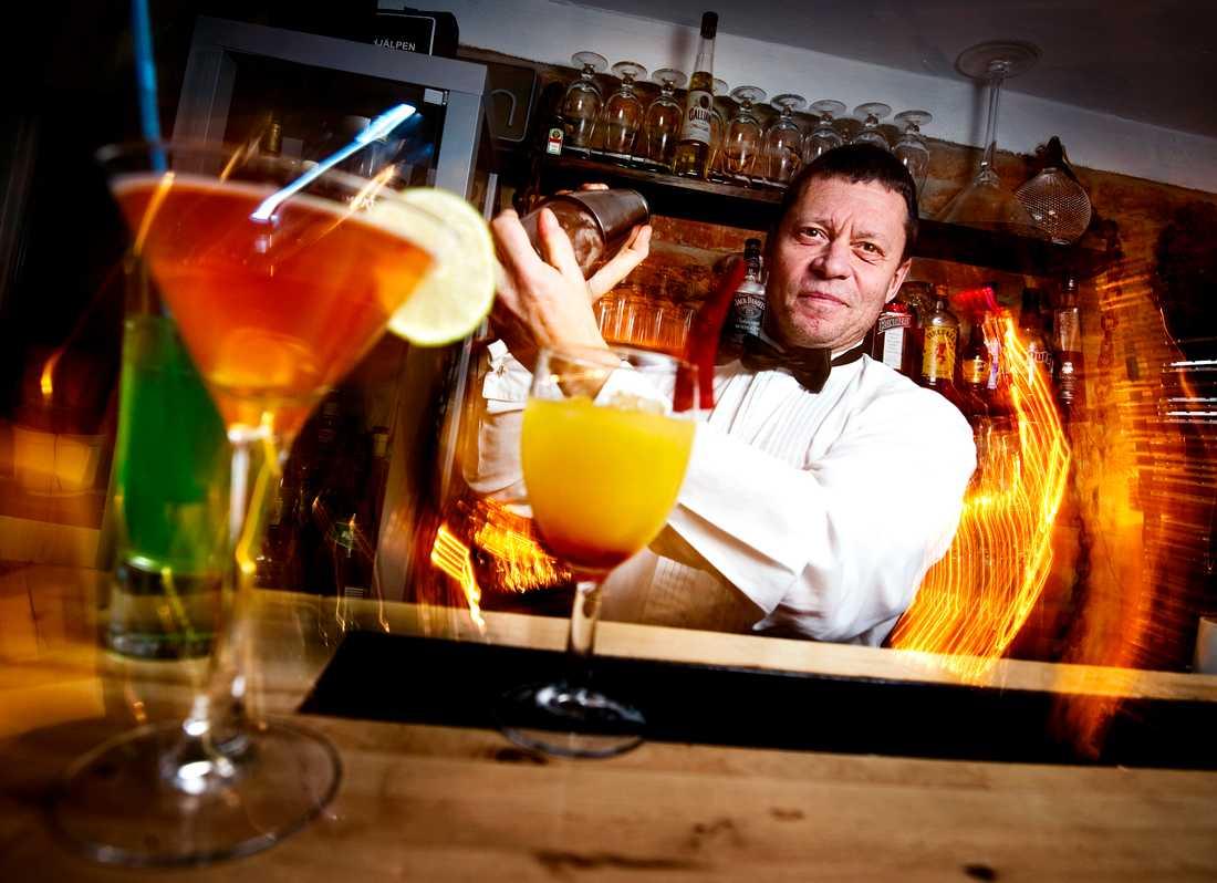 Bartendern Björn Nielsen, 53.