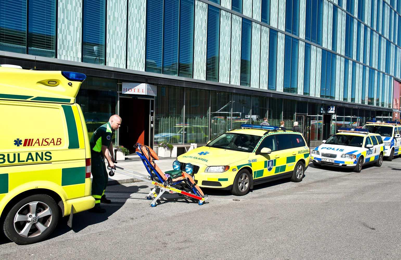 Bengt hittades död på ett hotell i centrala Stockholm.