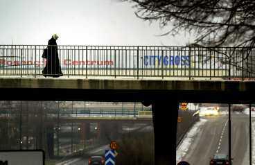Rosengård i Malmö – i topp på folkpartiets lista över svenska ghetton. Kvinnan på bilden har inget samband med artikeln.