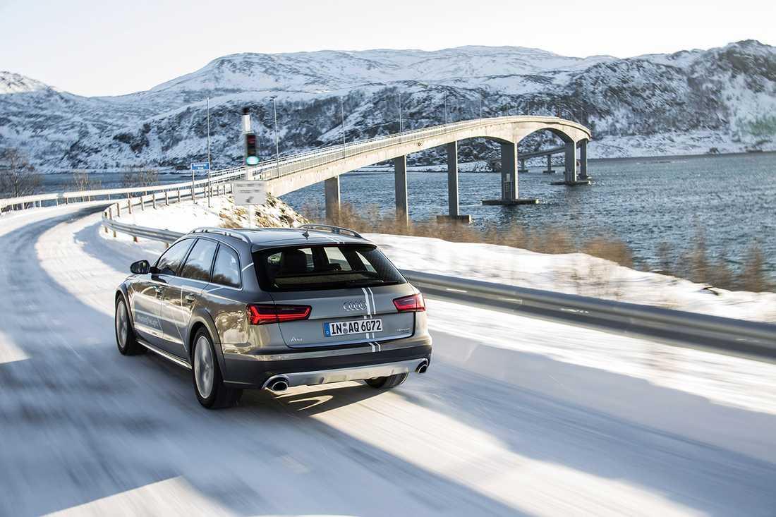 Audi A6 Allroad Tyska Audi är de som gör bäst bilar enligt Concumer Reports sammanlagda data.