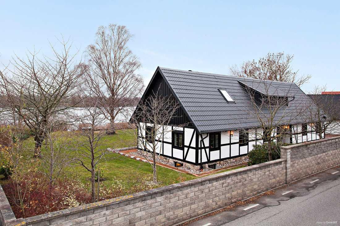 Korsvirkeshuset i Klagshamn som klickades mest bland bostäderna som ligger ute till försäljning i Malmö förra veckan.