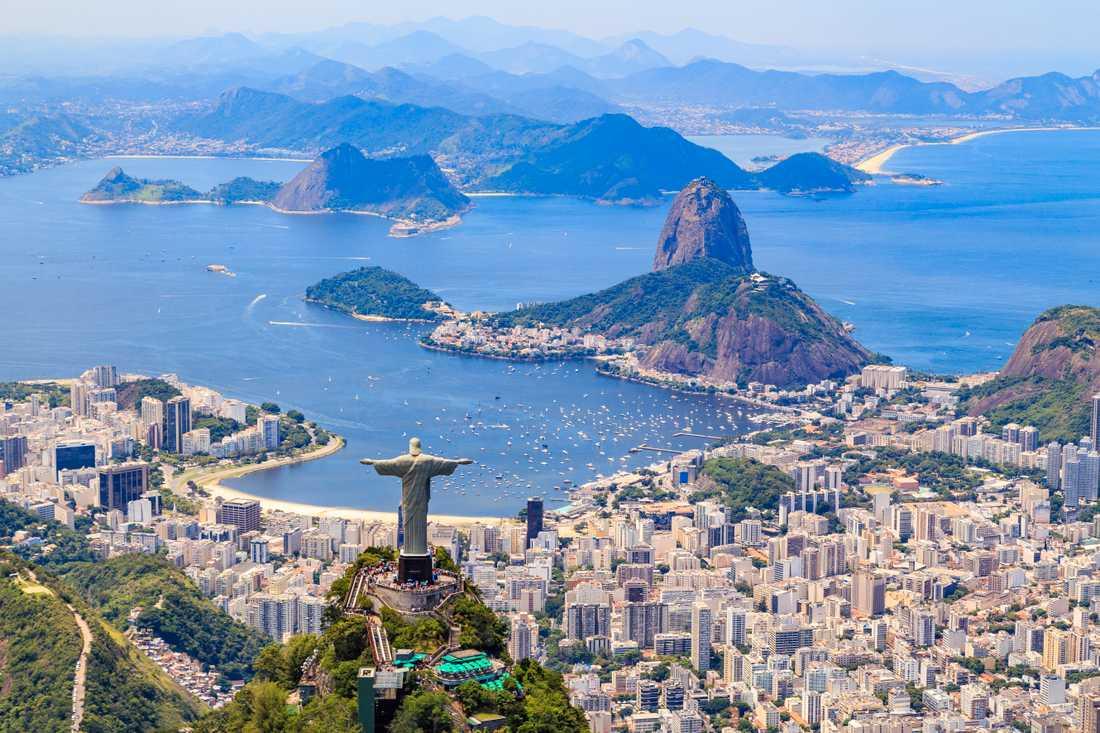 Många som reser till Brasilien vill upptäcka Rio de Janeiro.