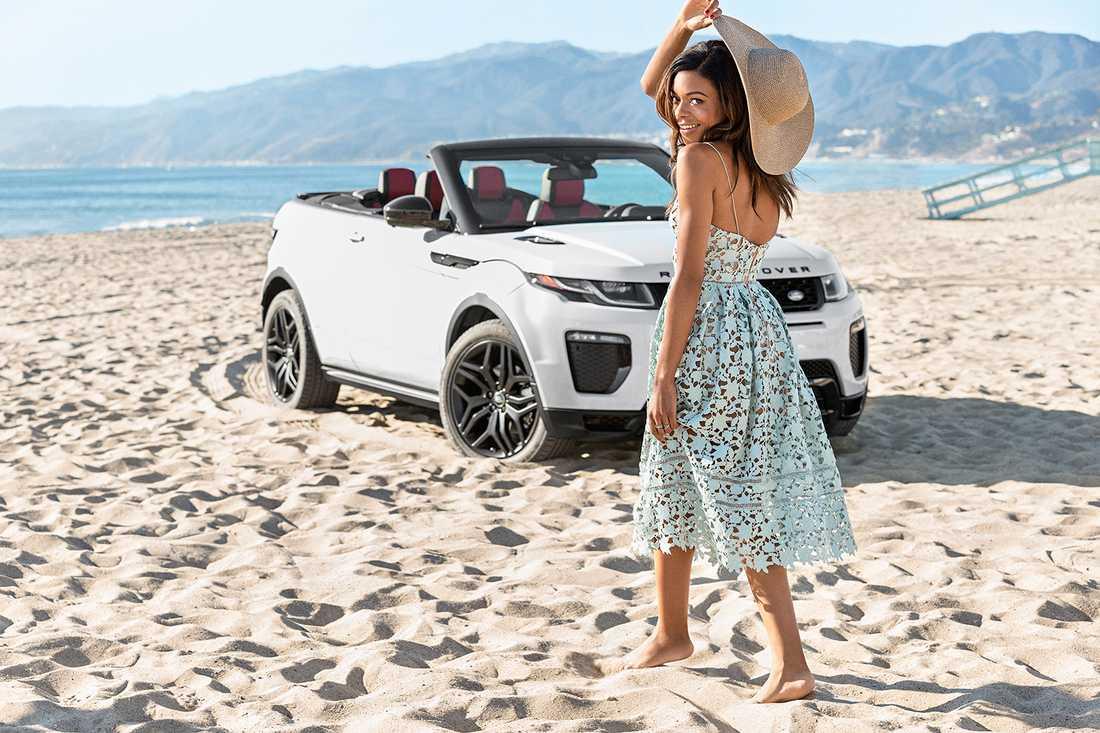 Range Rover Evoque Cabriolet.