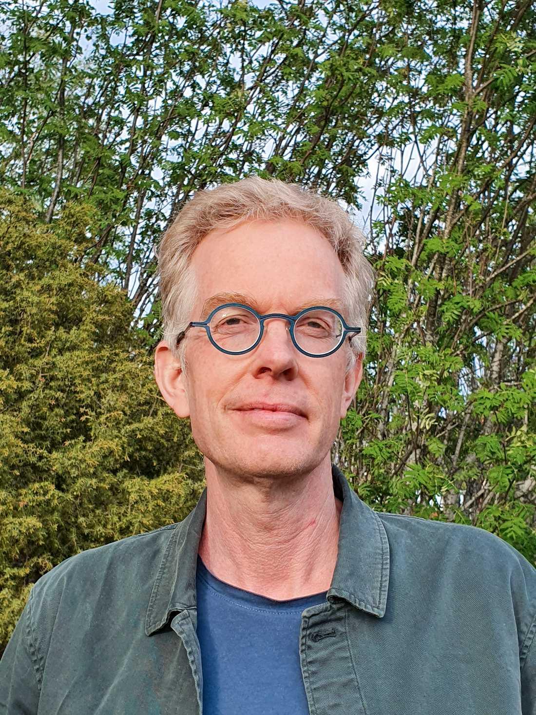Anders Johnsson, hygienläkare för region Västerbotten, forskare och ordförande i Svenska hygienläkarföreningen.