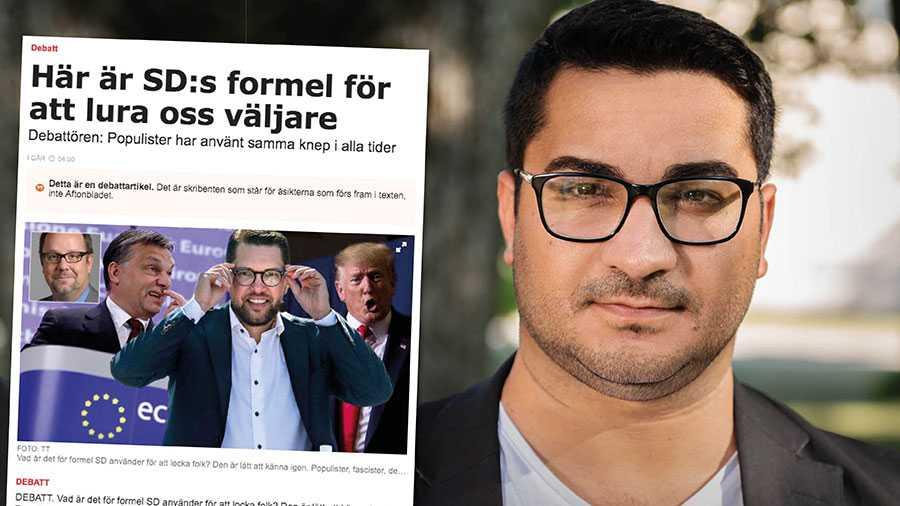 Sverigedemokraterna på väg att bli Sveriges största parti. Och det är inte deras förtjänst. Det är ett misslyckande – för er alla andra, skriver Vladimir Ahmed.