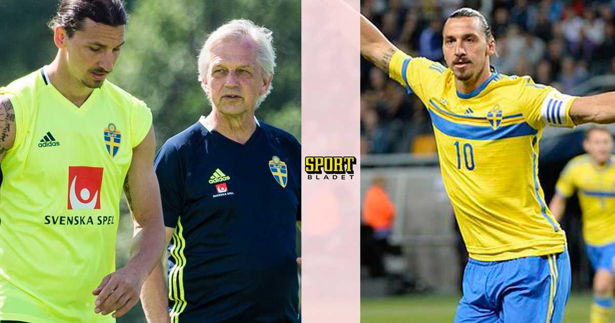 Lasse Richt trodde Zlatan skulle säga ja till VM  f73d1ff3ba797