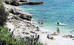 Banje Beach är Dubrovniks citystrand nummer ett.