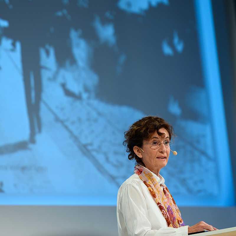 Ingrid Lomfors, historiker och över-intendent för Forum för levande historia.