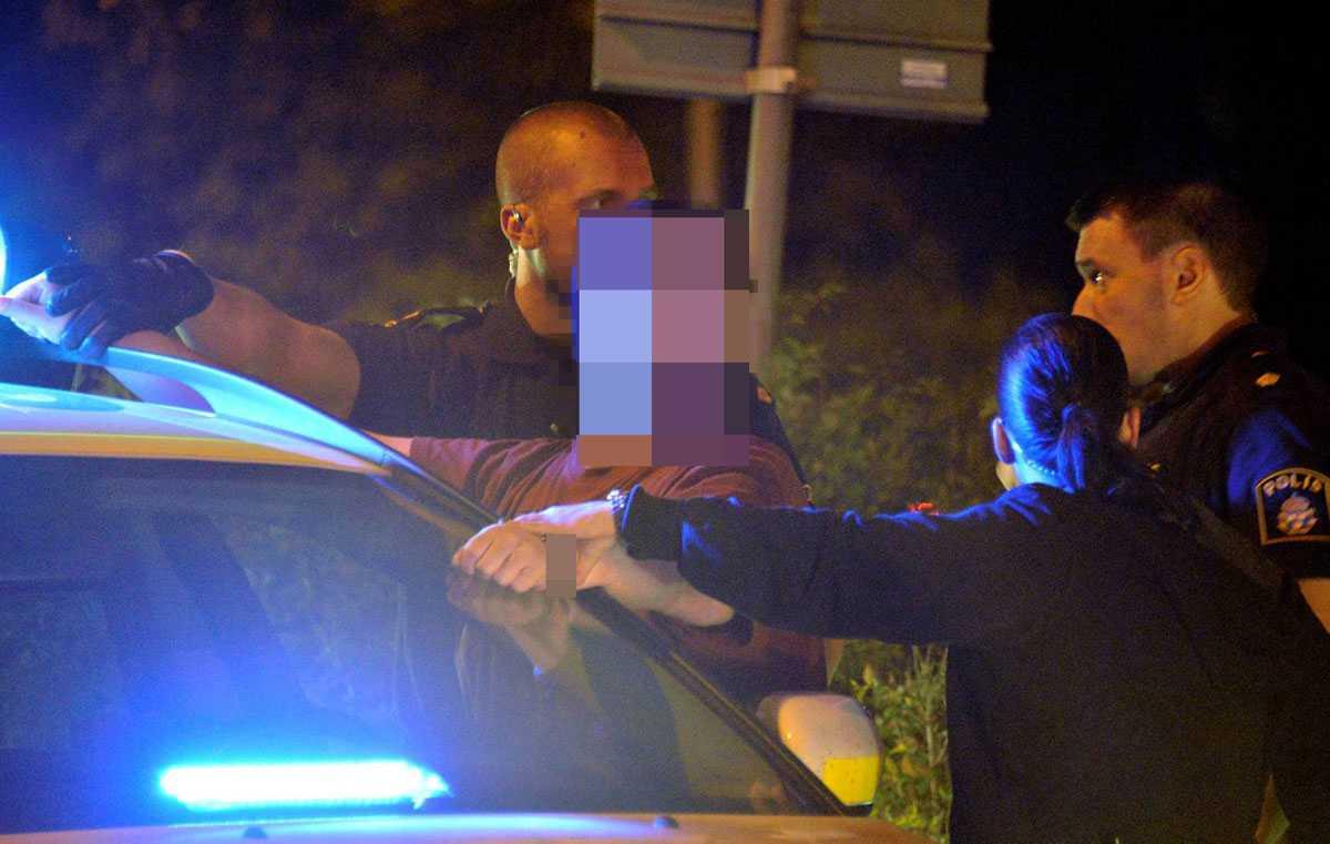 Efter ett stort pådrag kunde mannen gripas i Malmö sent i går kväll.