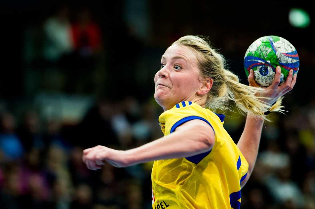 Ida Odén Ålder: 27. Position: Högernia. Klubb: Sävehof.