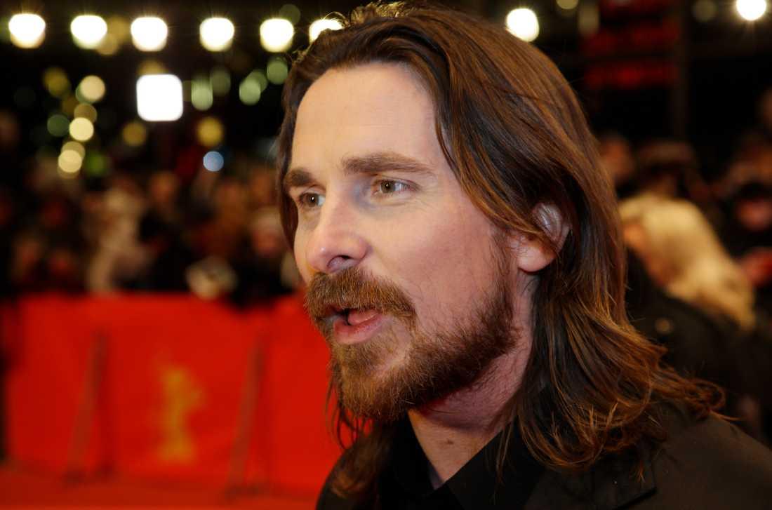 Christian Bale innan förvandlingen.
