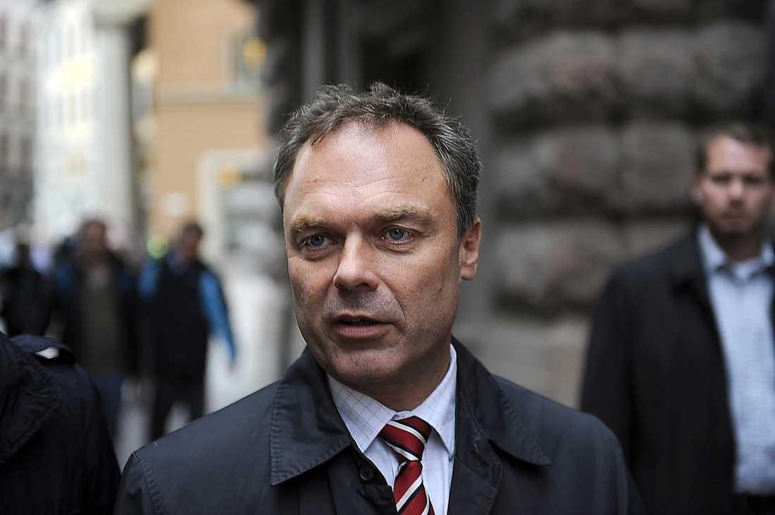 Folkpartiets partiledare Jan Björklund.