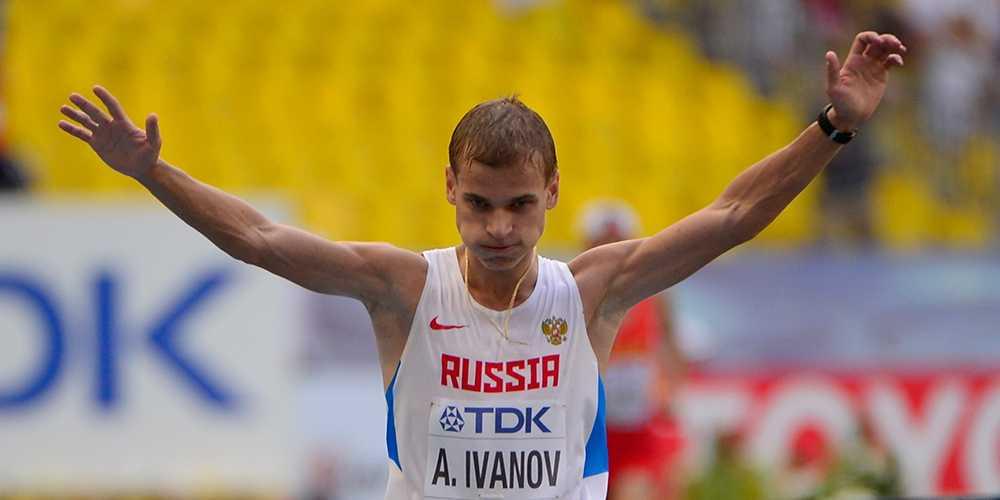 Aleksandr Ivanov pekas ut av Andreas Gustafsson.