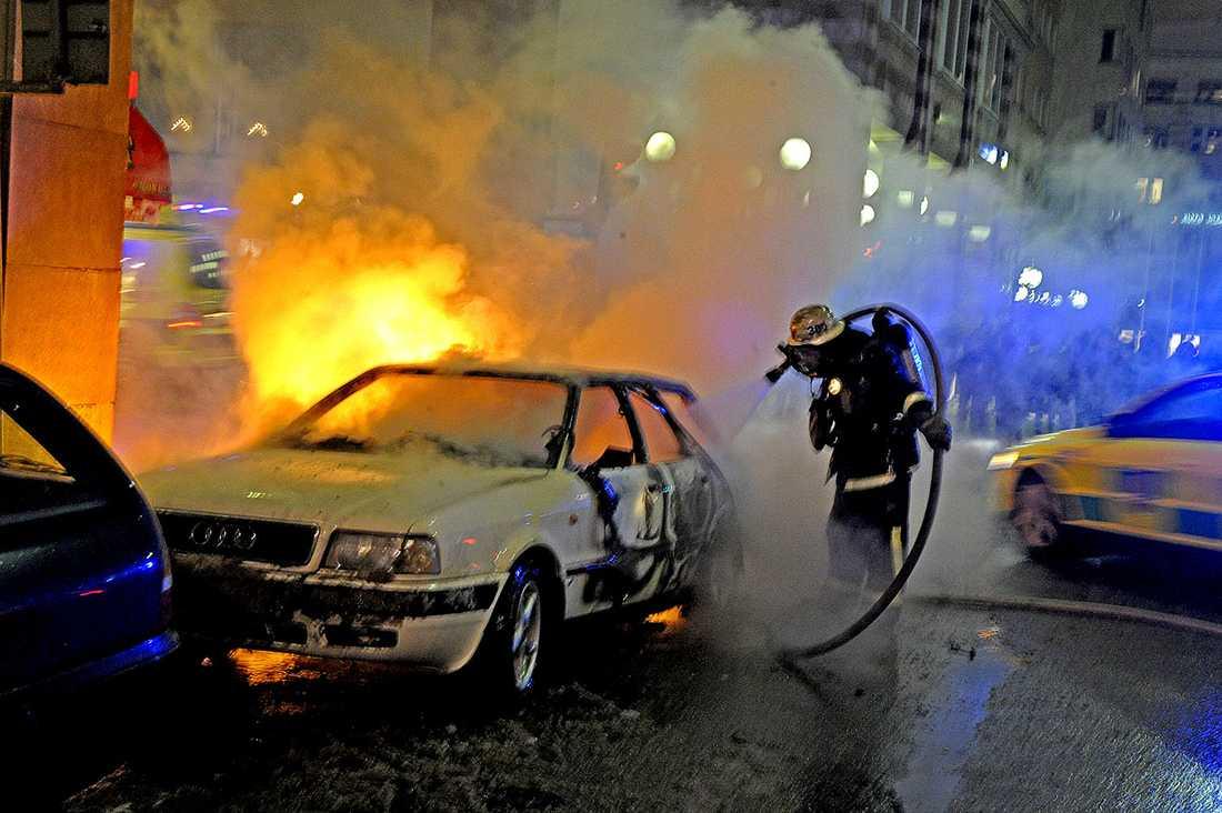 Taimour Abdulwahabs bil som exploderade strax före hans misslyckade självmordsdåd.