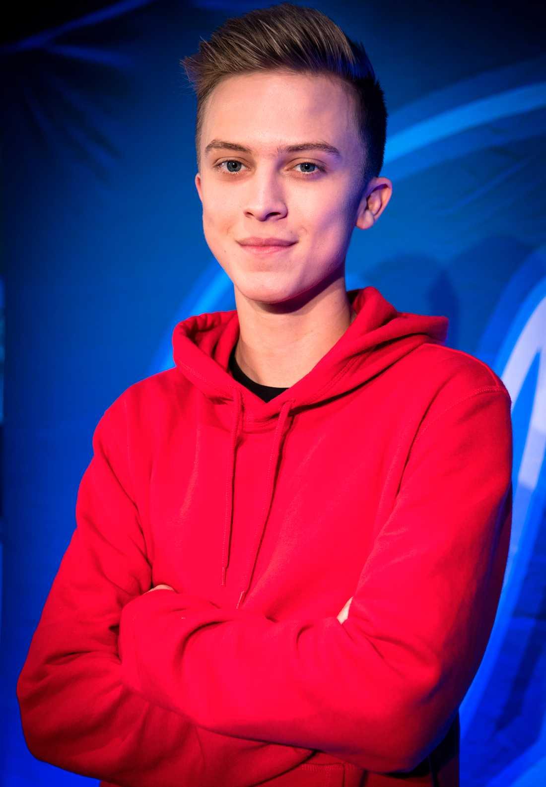 Noah Gerstenfeld, 19, blev uppringd av Pär Lernström.