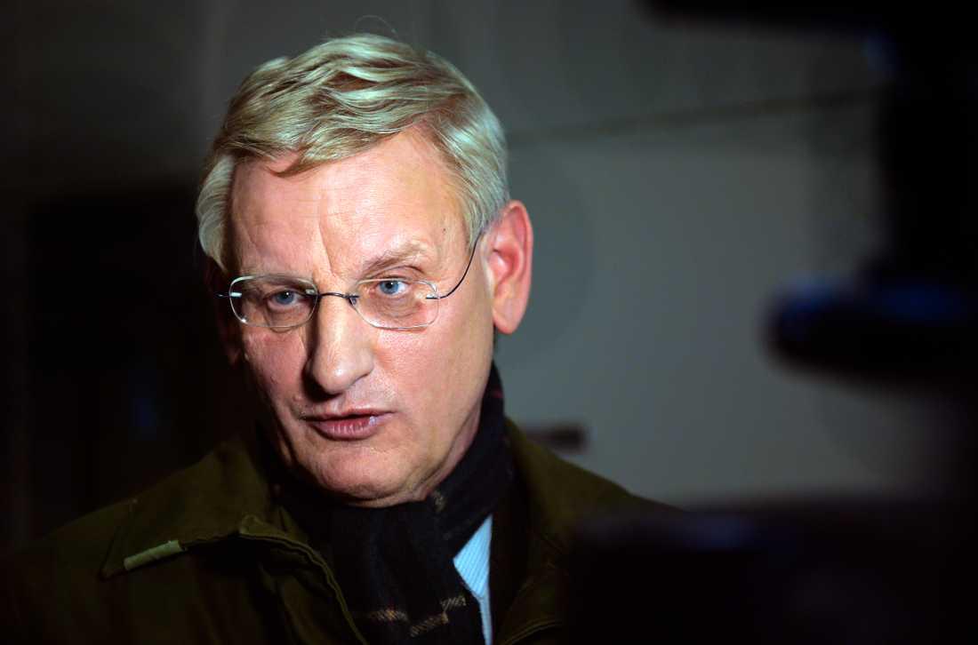 Sveriges tidigare utrikesminister Carl Bildt.