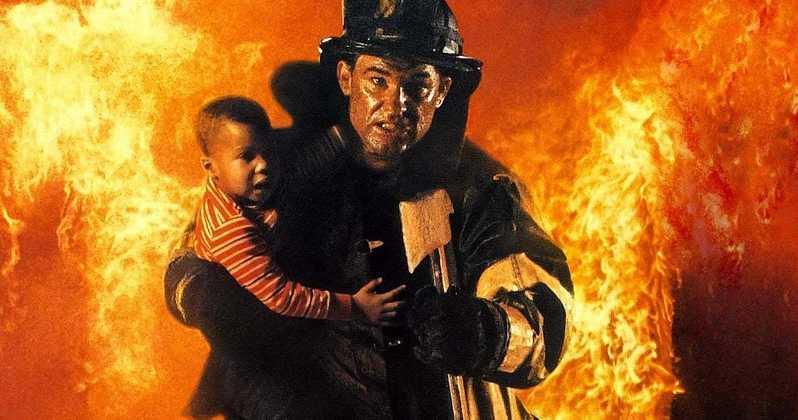 "Kurt Russell i ""Eldstorm"" (1991)."