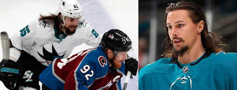 Erik Karlsson missade premiären för San Jose Sharks.