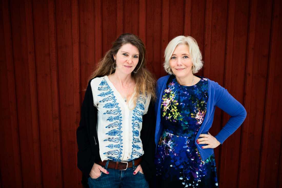 """Journalisten Linda Newnham och terapeuten Linda Newham har skrivit boken """"You go girl"""" om att lämna dåliga kärleksrelationer."""