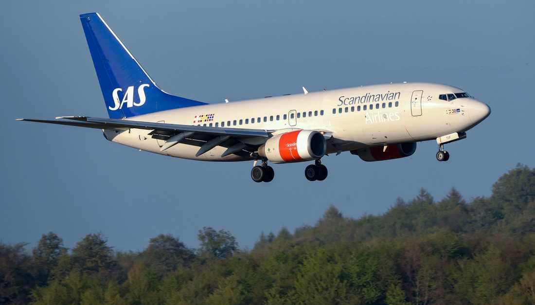Start- och landningsavgifter för flyg ska ses över och utredas av Transportstyrelsen, med syftet att minska flygets klimatpåverkan. Arkivbild.
