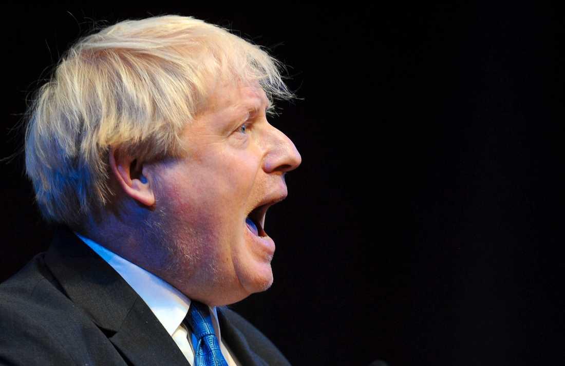 Konservativa partiets parlamentsledamot Boris Johnson.