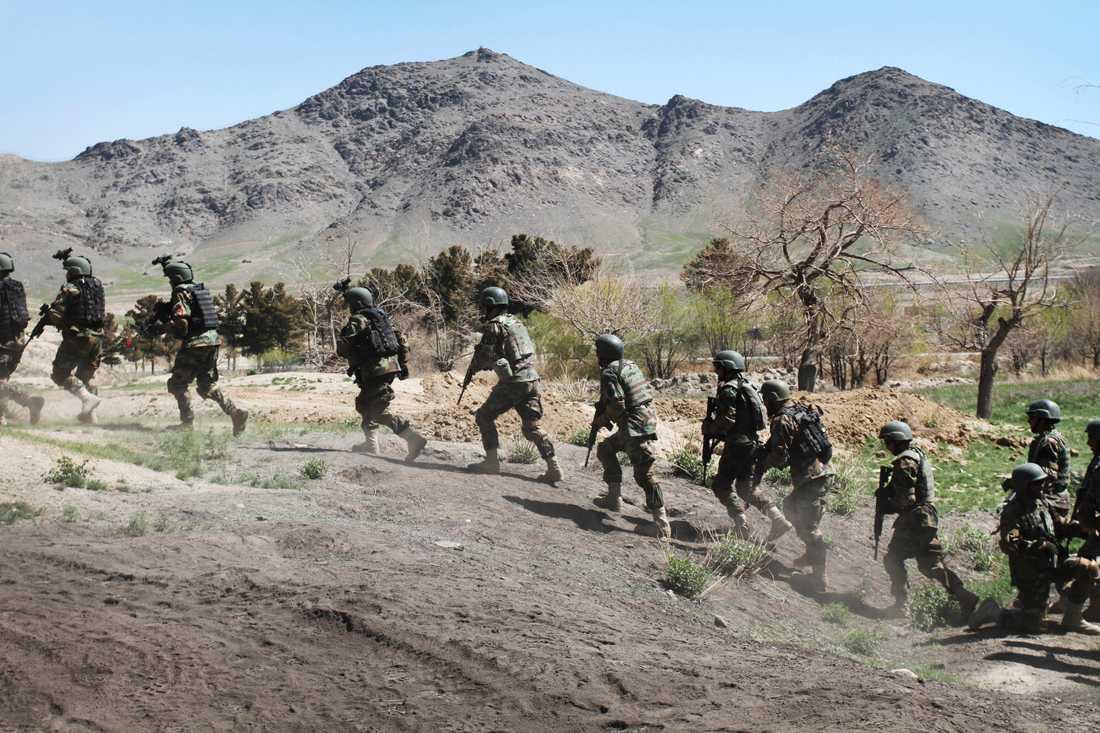 CIA-stödda afghanska paramilitära styrkor anklagas för utomrättsliga avrättningar. Arkivbild.