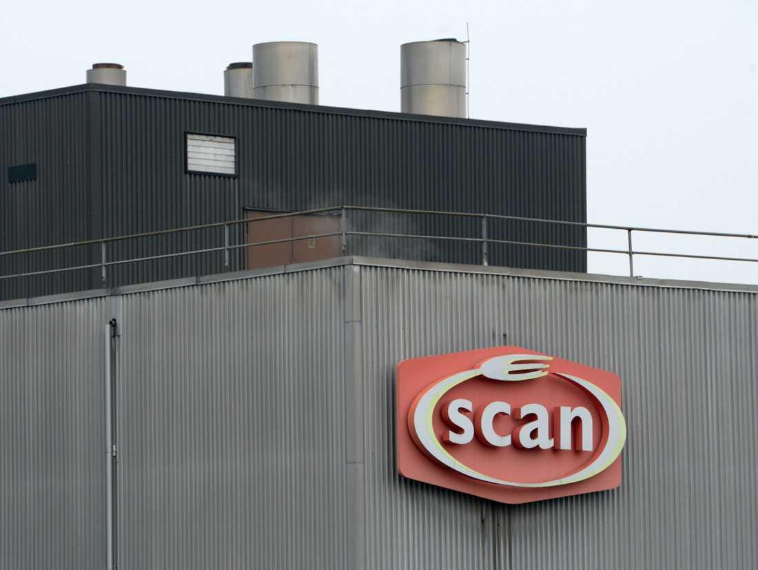 Djurrättsaktivister genomförde en aktion mot Scan i Linköping. Arkivbild från Scan i Kristianstad.