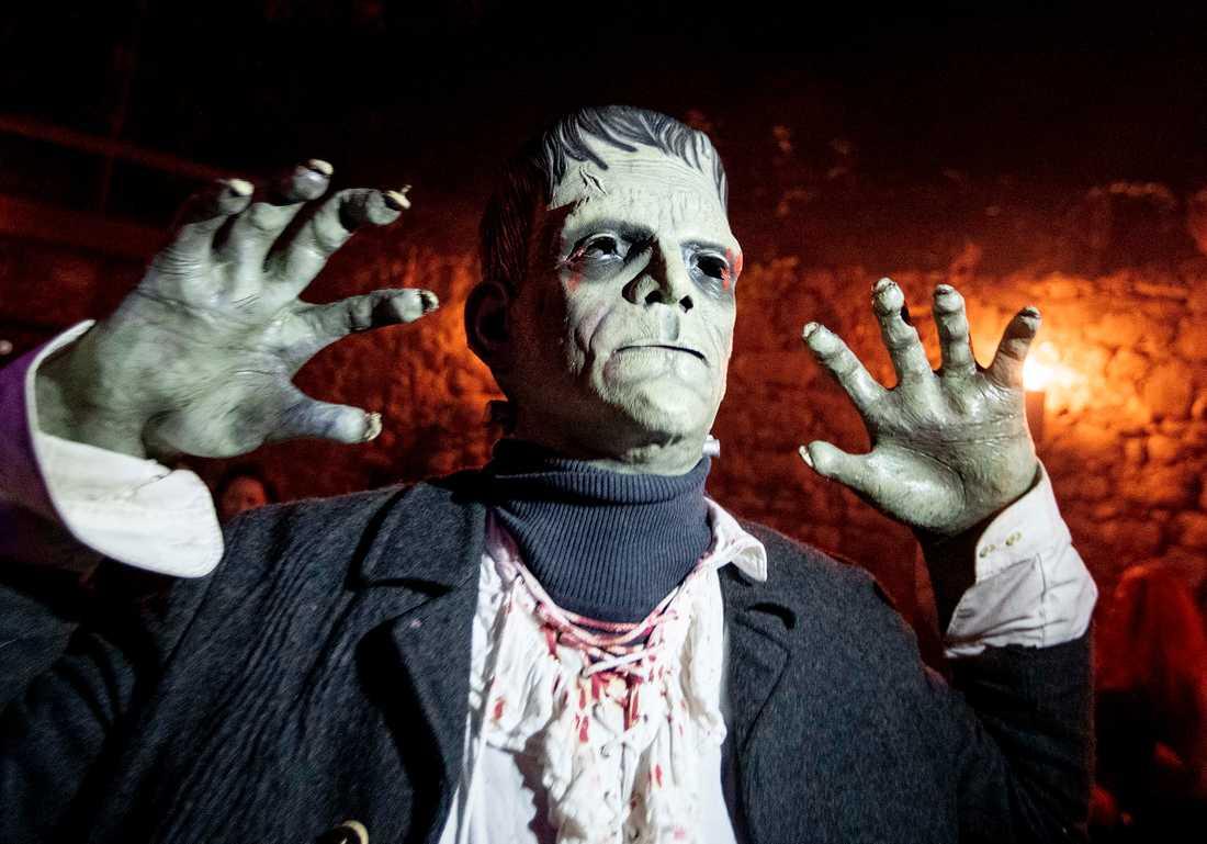 """Mest känd bland monstren är kanske Frankensteins monster från Mary Shellys roman. """"Jag ser det som den bästa skräckroman som skrivits"""" säger Bo Eriksson som forskat om monster i världshistorien."""