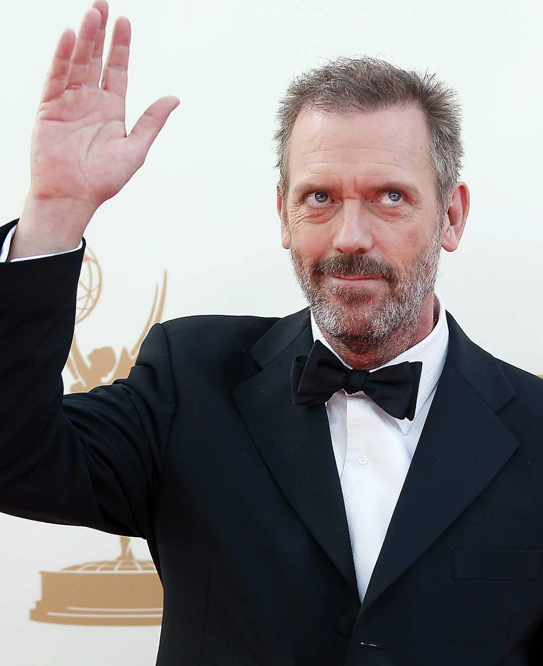 """Hugh Laurie – nominerad som alltid för """"House""""."""