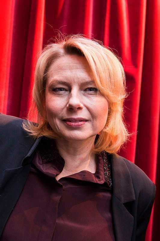 Helena Bergström, regissör och skådespelare.