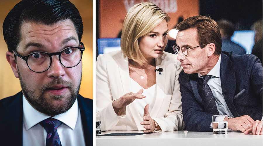 Det är inte lätt att bryta ett äktenskap efter fjorton år tillsammans, men det är dags att Moderaterna och Kristdemokraterna släpper taget och går vidare, in i den nya verkligheten, skriver  Jimmie Åkesson.