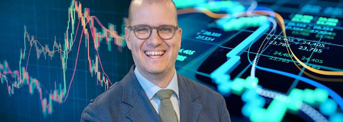 Den kommande perioden är den mest turbulenta på börsen, säger Joakim Bornold, sparekonom på försäkringsförmedlaren Söderberg & Partners.
