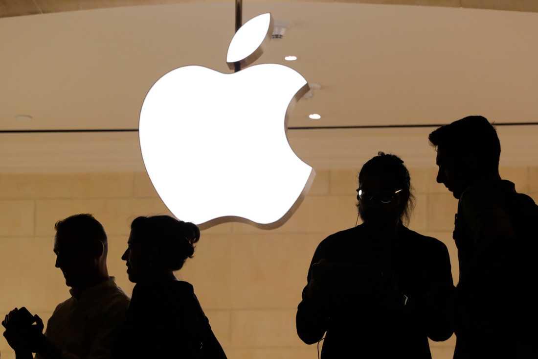 Timanställda i Applebutiker i Kalifornien har vunnit mot sin arbetsgivare i en domstol. Arkivbild.