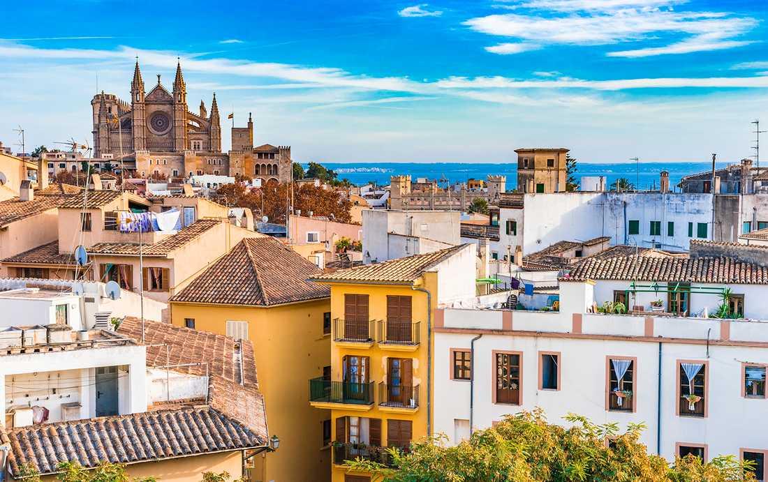 Mallorcas huvudstad Palma stoppar turister från att hyra privata bostäder.