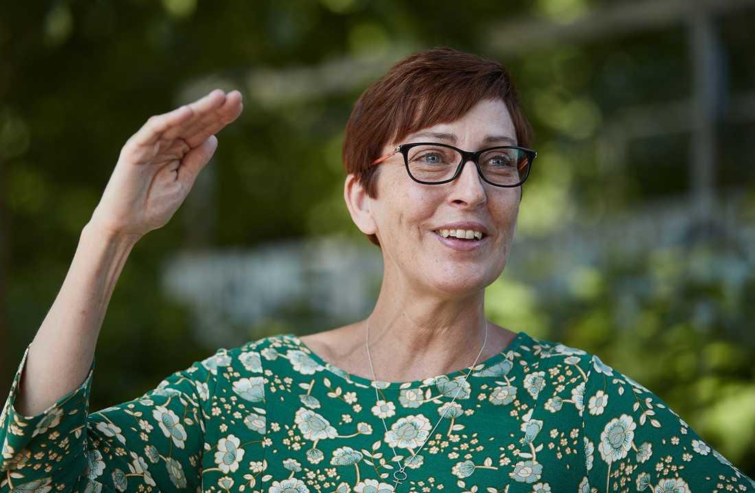 Susanne Meijer (S), kommunstyrelsens ordförande.