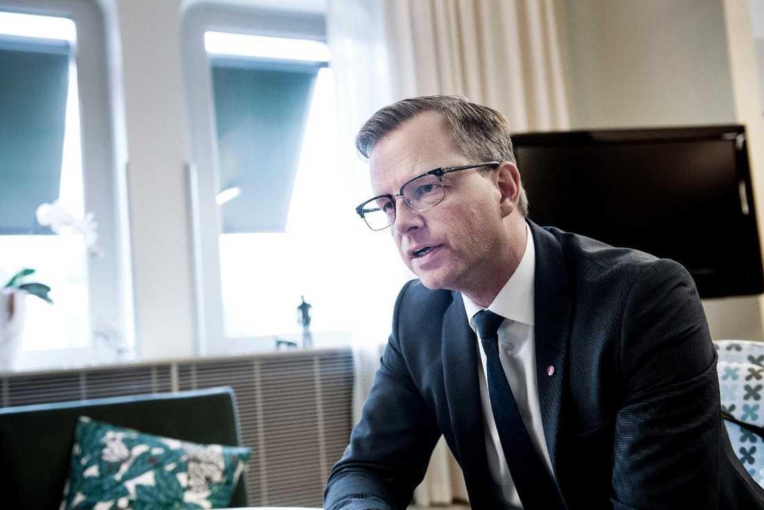 Näringsminister Mikael Damberg (S). Betyg: 2,7 (Oförändrat)