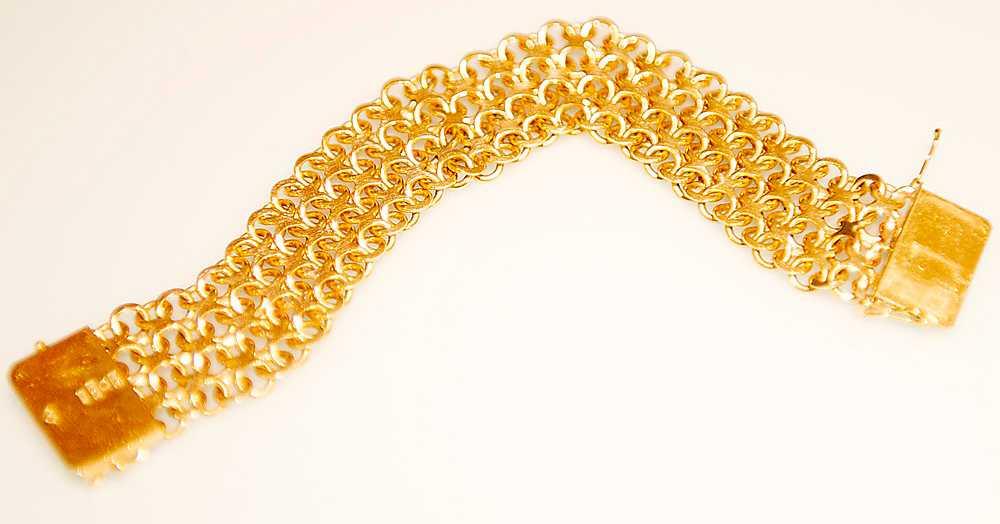 12857 kr X-länk, armband, 18 karat - 55,9 gram.