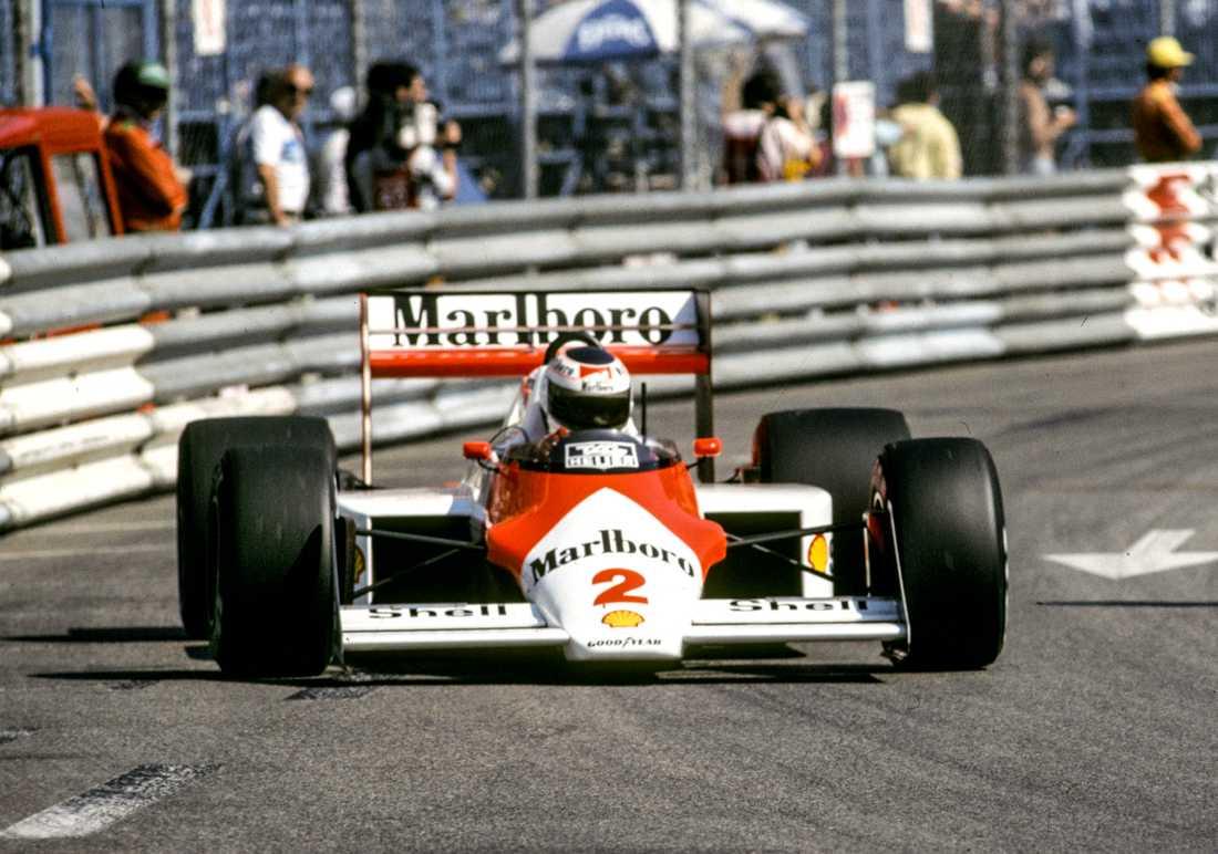 """""""Lill-Lövis"""" under Monacos GP 1987"""