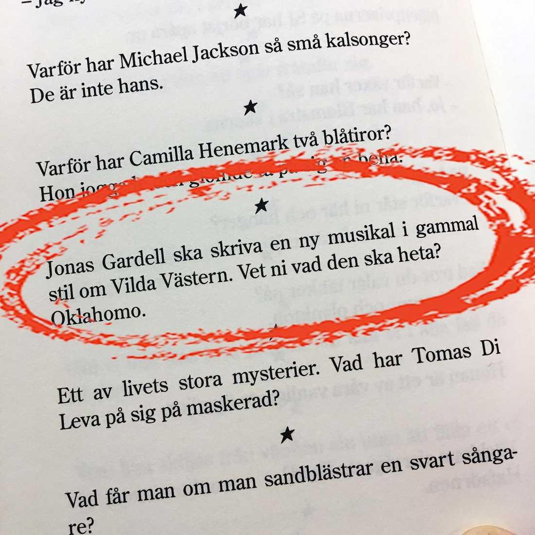 """Ur """"Martin Timells bästa & sämsta""""."""