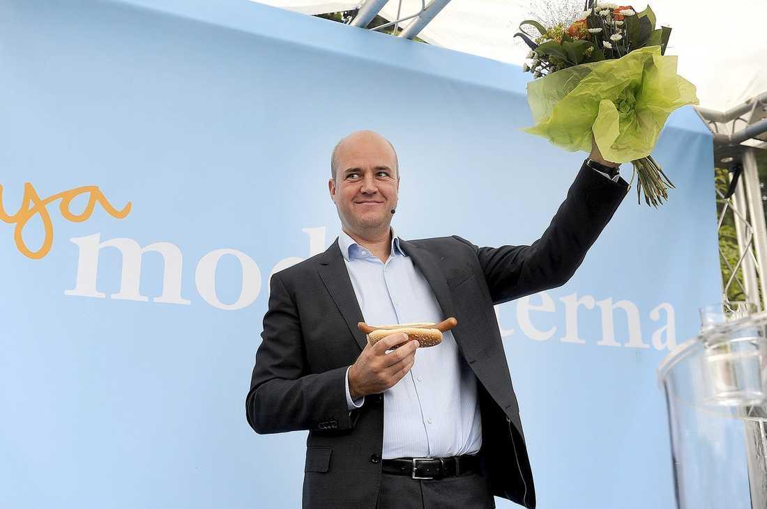 Fredrik Reinfeldt gillar korvgryta också.
