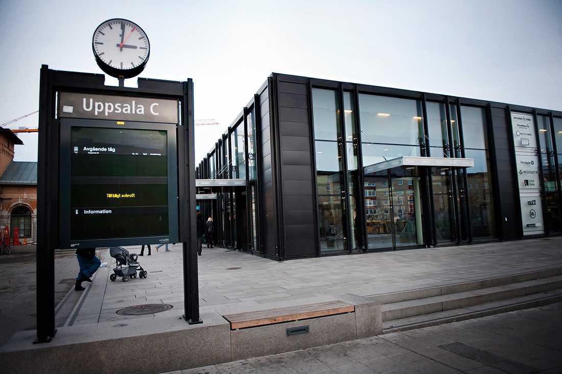 Alvar Björk blev misshandlad på resecentrum i Uppsala.