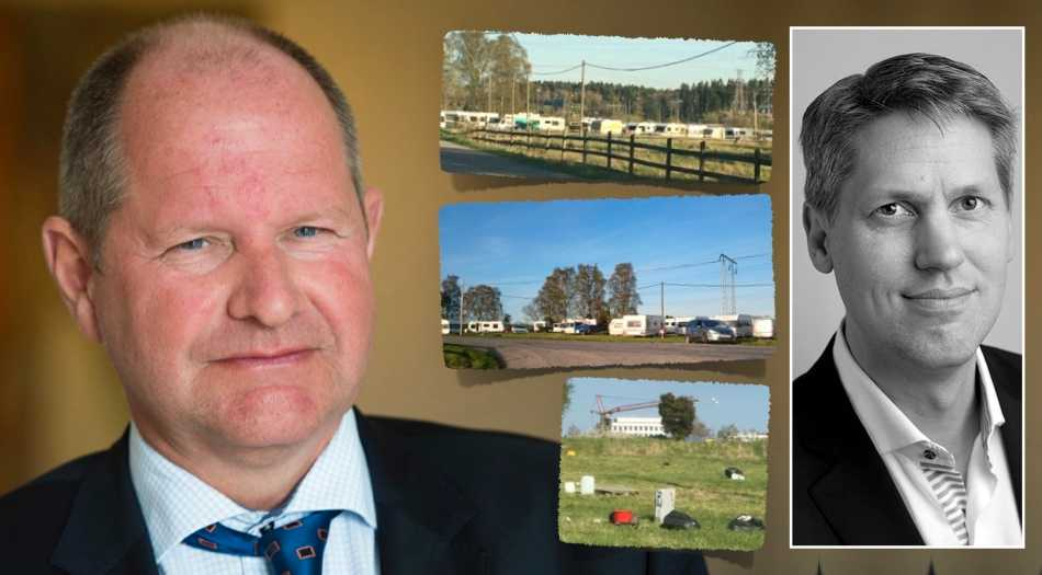 Nu får det vara nog. Det som drabbat Anders Ström och som sker runt omkring i vårt samhälle just nu är inte värdigt ett land som Sverige. Jag kräver en ursäkt från rikspolischefen, skriver Henrik Thunes (M). (Bilderna från platsen är tagna av arrendatorn.)